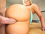 Super juicy hot ass booty shorts babe gets her amazing ass fucked and cumfaced in these 2 cocks fucking anal pussy cumfaced double cumfaced hot movies