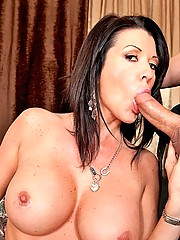 Milf finds relief in a thick cock
