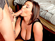 Alanah and Memphis fucking two huge swinger cocks