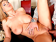 Busty blond gets anally fucked