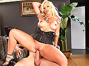 Brittney Skye engaging her tight pussy in sexual intercourse
