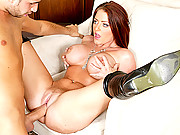 Sophie gets her ass pummeled hard by a huge cock