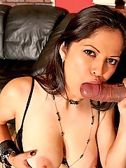 Evie Delatosso loves hard cock fucking her mature pussy