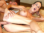 Pornstar Mckenzie Lee gets fucked the way she likes to get fucked