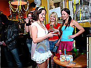 Surprise birthday horny sex party for teen