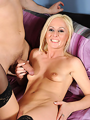 Anilos Mischall Gold gets her mature pussy licked and then gets banged by a stiff cock