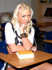 3 smoking hot ass mini skirt big tits teens get fucked in detention hall after being naughty in class 3some fucking pics