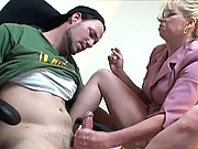 milf smoking handjob videos