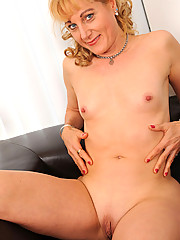 Anilos Angella Faith reveals her big nipples and tasty milf pussy
