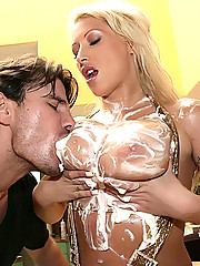 Smoking hot 36ddd blonde gets her mega tittys fucked and plump ass drilled hard poolside in these hot fucking pics