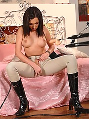Big Tits in Boots