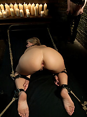 Tara Lynn Fox is humiliatingly punished lesbo style for teasing a bunch of cocks and not delivering the goods!