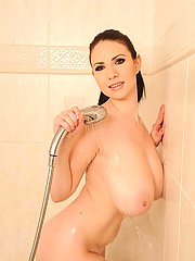 Big Tits in Shower