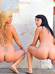 Haley and Hayden get naked and naughty