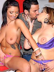 2 hot fucking big natural titty babes get power fucked hard in this big tity fucking update