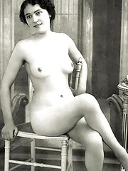 Real vintage nude babes posing in the boudoir
