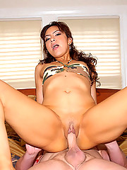 Super hot ass milf takes a hard cock deep in her hard body in these hot fucking cumfaced pics