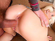 The most amazing hot ass euro babe rides  a mega dong in these hot amateur fucking movies