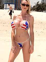 Huge Boobs in Bikini