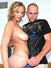Super hot 36dd big tits babe gets fucked hard in her ass in these black sticky tape fucking pics