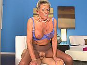 Cum-Hungry Sandra Ann Rides Again!