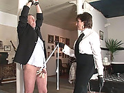 Booted hot wife british mistress