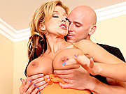 Sexy milf gets her tight pussy fucked