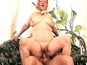 Gramma loves riding a hard cock