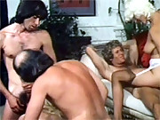 A group of horny people sucking and sucking