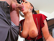 Horny chick with an awesome ass gets fucked hard