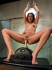 Tori Black rides the sybian into pussy oblivion in the bonus update.