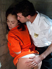 Prison girl ass fucked, anally fisted and enema humiliation.
