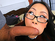 Hot fucking asian gets caught masturbating her little tight box then gets fucked hard in these screaming asian fuck vids