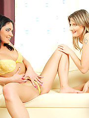 Two college friends meet up again to try out some lesbian frolics for there first time. Swan is a cute blonde looking girl who has always wanted to feel a girls tongue run over her naked flesh so afte...