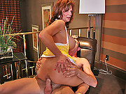 Hot milf gets pounded hard