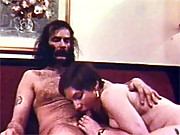 Real vintage kinky chick licking his asshole