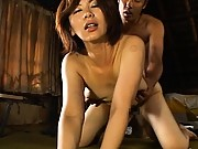 Chisato Shouda tits bouncing as this milf fucks her young lover
