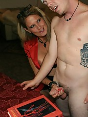 Bridgett Lee Handjob with young guy