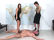 British cfnm humiliation domme duo