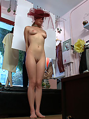 Stunningly beautiful 19 yr old blonde good girl finally gets treated like the slut whore she really is.
