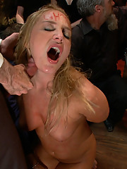 In real life Aurora Snow is a famous pornstar. On public disgrace she