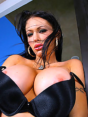 Super stacked big tits babe gets fucked hard in her tight shaved box hot fucking pics