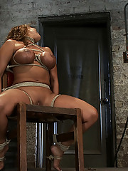 Big titted MILF Ava Devine is bound brutally to a chair and made to cum over and over.  No hope for escape, no hope for mercy, just orgasm after...