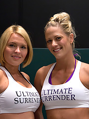 Two muscled blonds fight it out on a wrestling mat to see who fucks the other!  NON-Scripted real wrestling action!