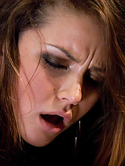 Allie Haze - dirty girl next door ass fucked and pussy rammed by a custom fucking machine.