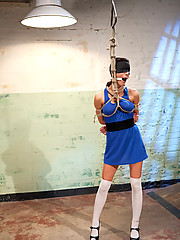 Hot hard bodied slut gets punished, abused and ass fucked by Maitresse Madeline LIVE for Whipped Ass members!