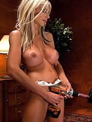Swedish super MILF - Puma Swede ass fucked speachless, uses goatmilker machine to suck her clit and ass hole while fucking a magic wand vibrator.