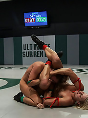 Re-match of last years Championship match.  Vendetta vs Ariel X, both past US champions, fight it out to see who fucks who  Non-scripted wrestling!