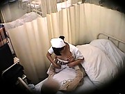 Amateur nurse fucking a patient in this hidden camera video