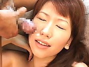 Ai Sayama breasts bounce as she is fucked by her lover